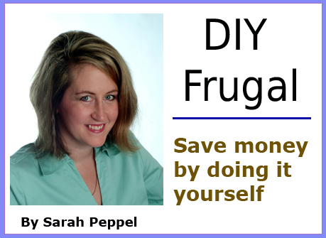 DIY Frugal button
