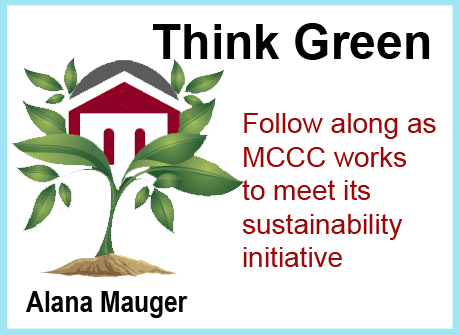 MCCC's think green blog