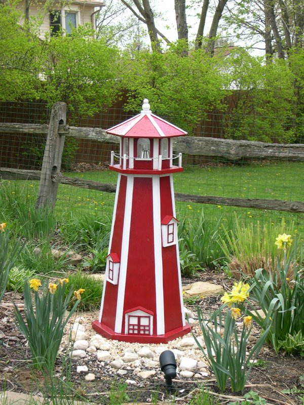DIY Backyard Lighthouse Plans Free