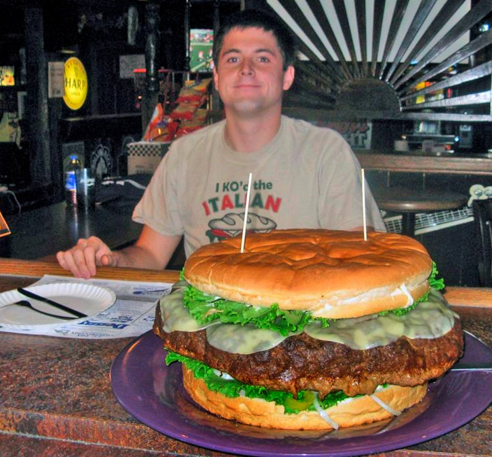 Open Mike: That's a mighty big burger