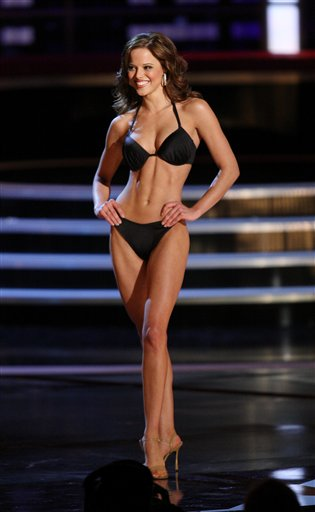 ... Miss America Saturday night in Las Vegas. Stam claimed the crown while ...