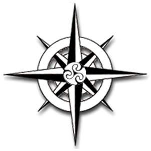 Compass Pointing East Tattoo compass tattoo   printable